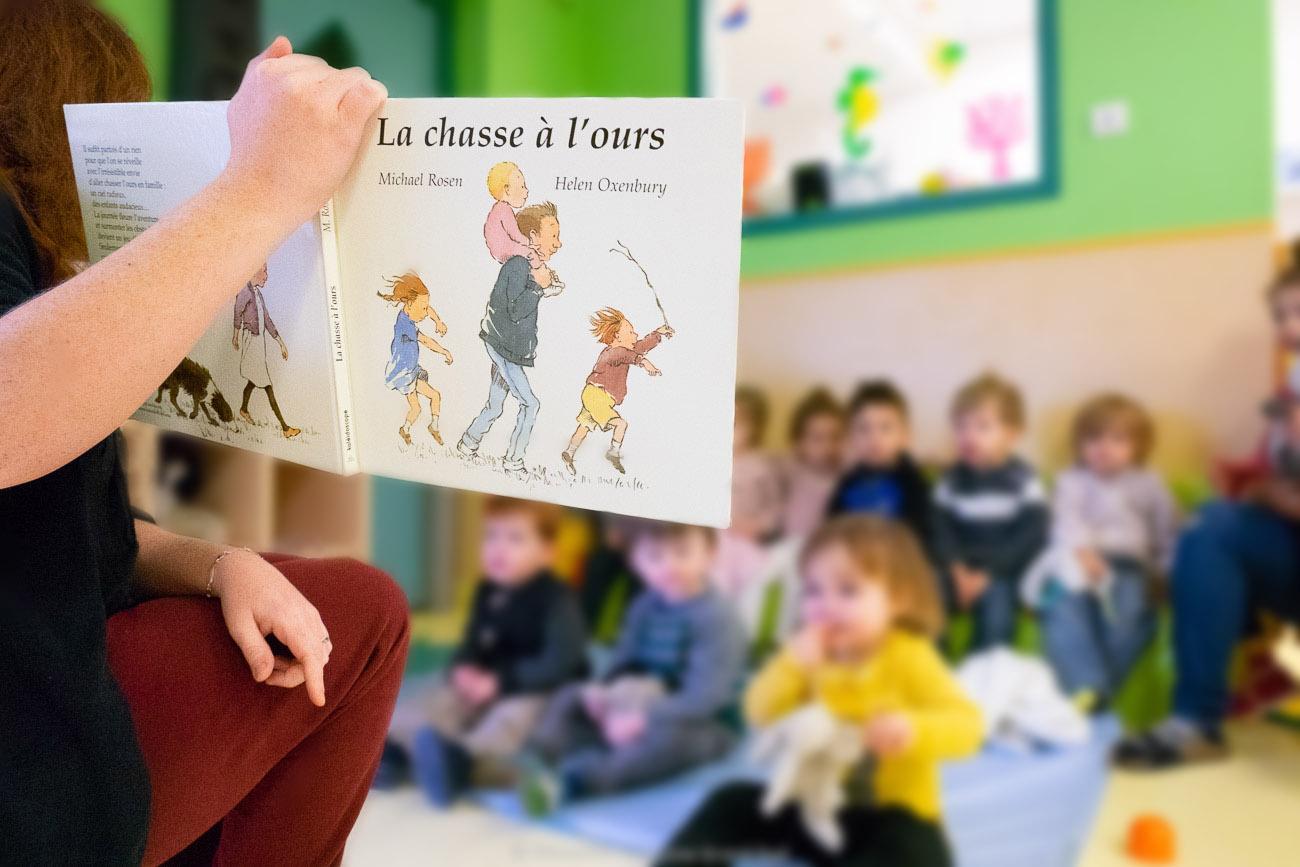 "5 crèches ""Multi accueil en Grand Pic St Loup"""