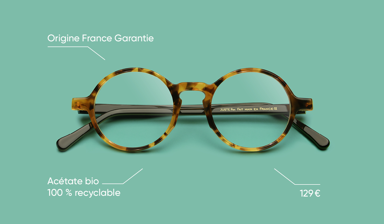 Notre gamme de lunettes JUSTE !