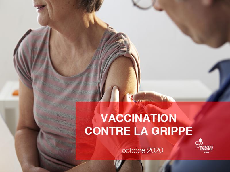 Grippe : la campagne de vaccination 2020 a débuté !