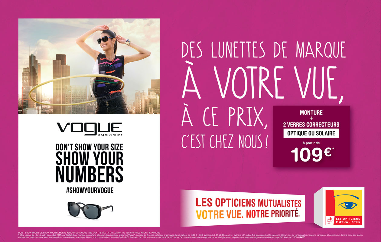 Les Opticiens Mutualiste  Affiche Vogue 8m2 E1 HD