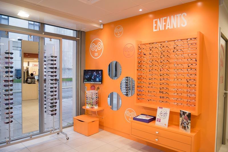 Les Opticiens Mutualistes Lunettes Montures Vue Protection Solaire Jeunes- Enfants af71d856c879