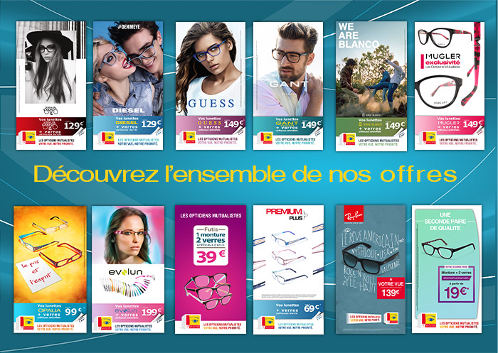 opticiens mutualistes / offres exclusives