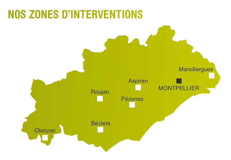 Soins infirmiers mutualistes herault zones interventions