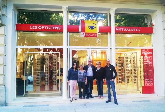 Nouveau magasin d'optique Avenue  Amiral Courbet à Nîmes