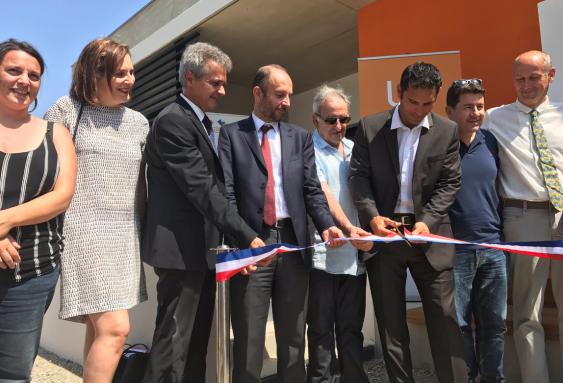 Inauguration de la micro-crèche Les Écureuils à Perpignan