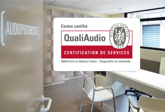 L'ensemble des centres Audition Mutualiste certifiés QualiAudio