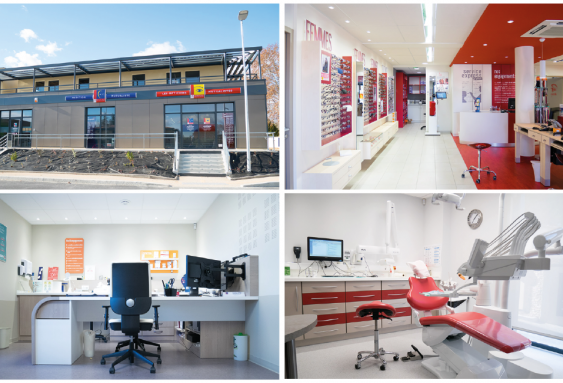 Création d'un nouveau pôle multi-activités Optique-Audition-Dentaire à Uzès