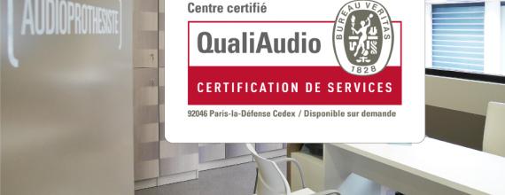 L'ensemble des centres Audition Mutualiste certifiés QualiAudio