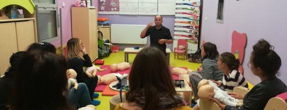 Formation aux premiers secours et initiation aux gestes d'urgences pédiatriques