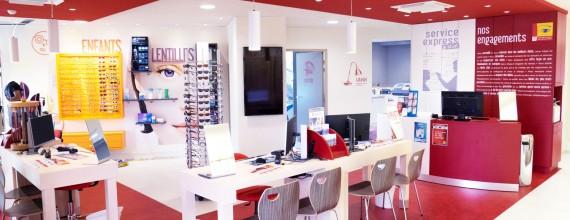Le magasin Les Opticiens Mutualiste des Angles entièrement réaménagé