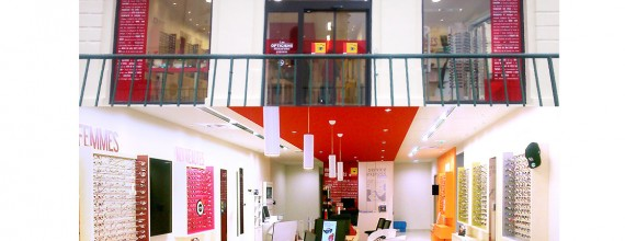 Transfert de votre magasin Les Opticiens Mutualistes d'Alès centre-ville