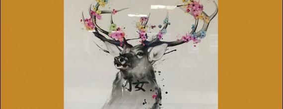 Un cerf fleuri pour notre EHPAD Gérard Soulatges