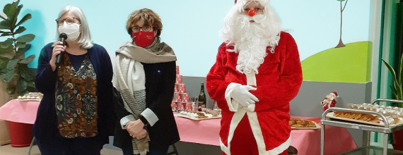 Moments festifs à La Roselière à l'occasion des fêtes de fin d'année