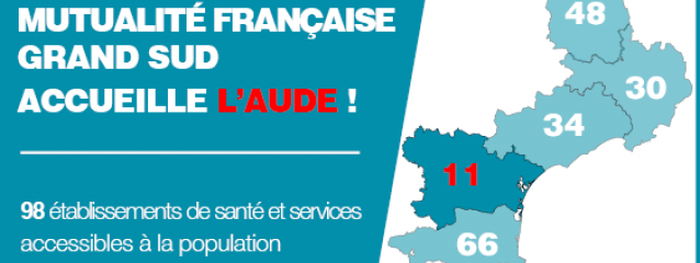 Mutualité Française Grand Sud accueille Mutualité Française Aude !